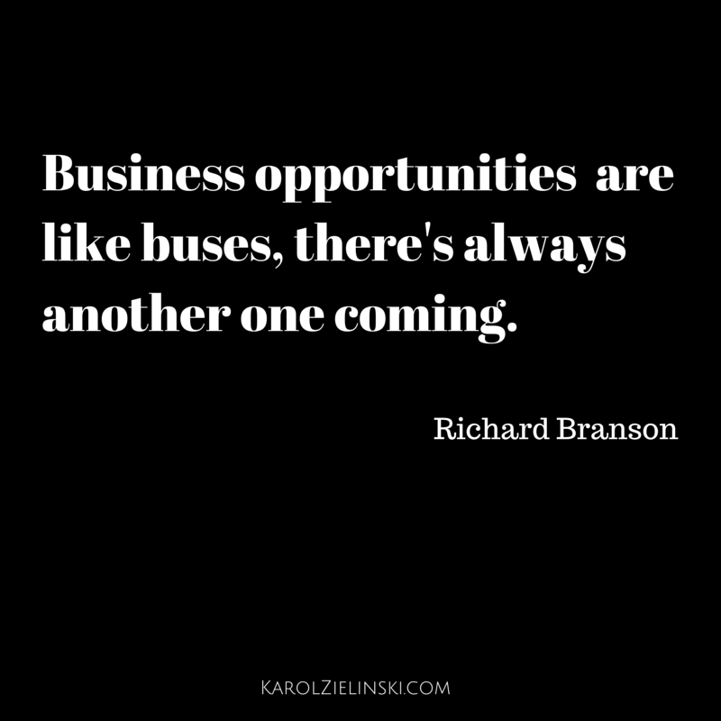 Business opportunities by Richard Branson [QUOTE]