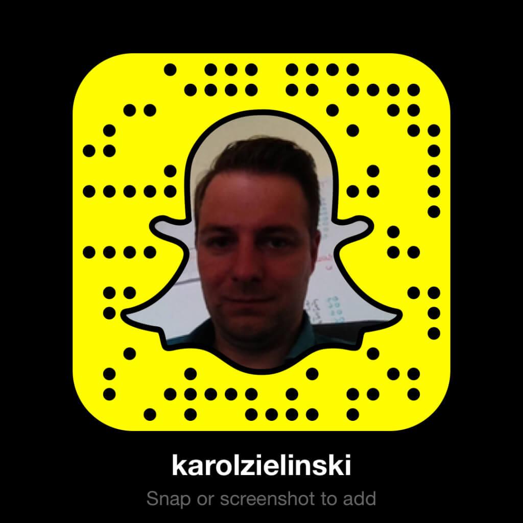 Snapchat - Karol Zielinski